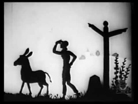 animation: HARLEQUIN (Lotte Reiniger, 1931)