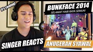 Cover images Muzik video Anugerah Syawal Bunkface 2014 - TV3 | SINGER REACTION