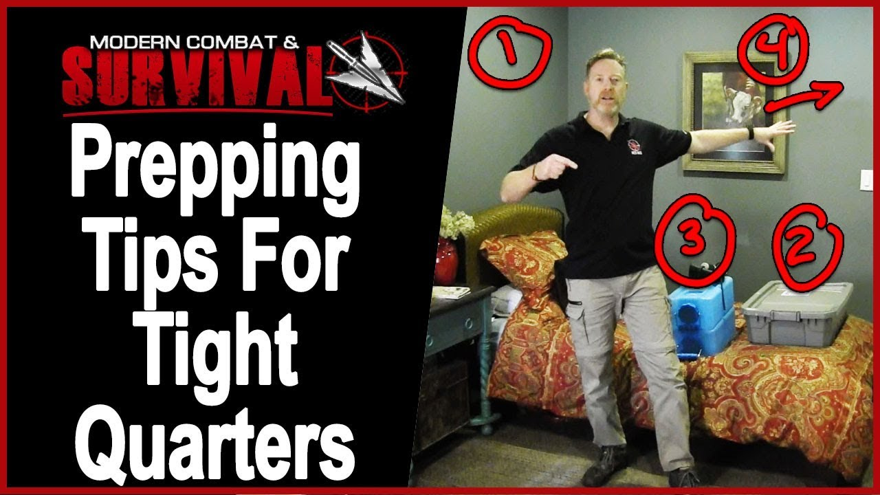 Prepper Survival Tips: Emergency Response Plan For Apartments And Small Homes