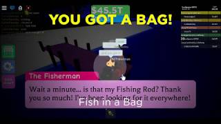 Roblox: Ore Tycoon 2 How to get fish in bag by bookgamer [bag hunt 2019]