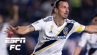 Watch Online Zlatan Ibrahimovic scores hat trick in Galaxy's 72 win MLS Highlights