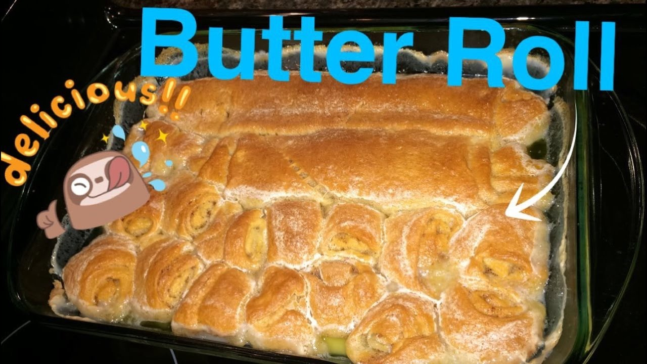 How To Make Butter Roll Youtube