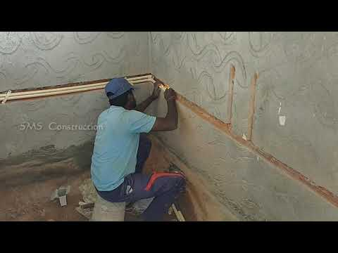 Water Pipe fitting in Bathroom | Cpvc Pipe line