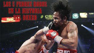 TOP 5 Peores Robos En La Historia Del Boxeo