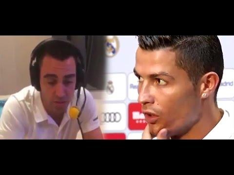 "CRISTIANO RESPONDE A XAVI: ""Juega en Qatar, y nunca ganó un Balón de Oro"""