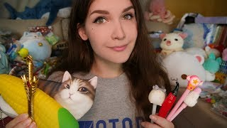 ASMR Russian Whisper 📌 Stationery 📐📎 and Toys with AliExpress 🎒