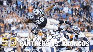 Repeat youtube video Jonathan Stewart Takes Flight & Soars for TD! | Panthers vs. Broncos | NFL