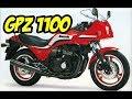 KAWASAKI GPZ 1100 - COM INJEÇÃO ELETRONICA NOS ANOS 80