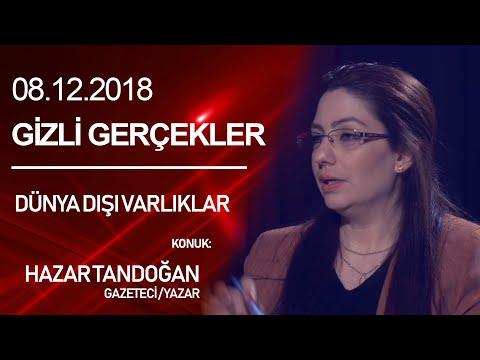 """Gizli Gerçekler """"Dünya Dışı Varlıklar"""" - 8 Aralık 2018 - Medya24 Tv & Prodüksiyon"""