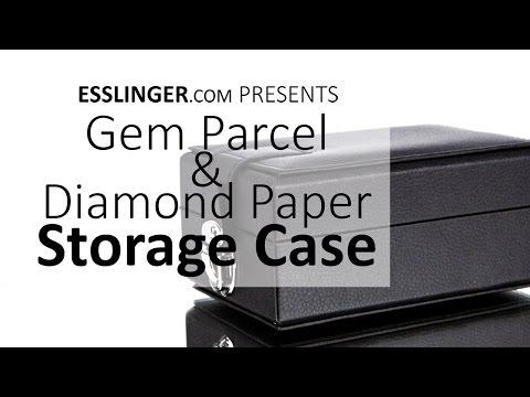 Gem Parcel & Diamond Paper Storage Case