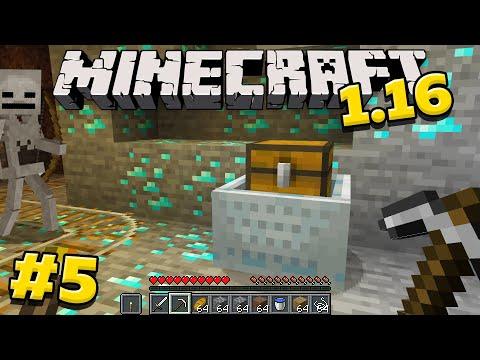 Майнкрафт 1.16 Выживание без модов! Куда пропали алмазы в minecraft? #5
