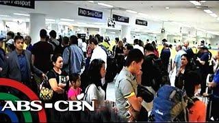 Pila sa immigration sa NAIA, halos ikaiwan ng ilang pasahero