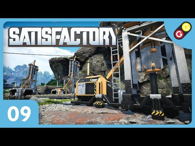 Satisfactory #09 On a besoin de plus de ressources ! [FR]