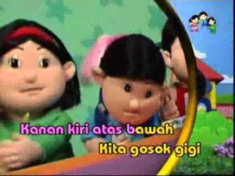 Lagu anak Indonesia: gosok gigi
