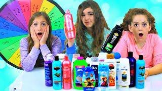 Mystery Wheel of Shampoo Slime Challenge!