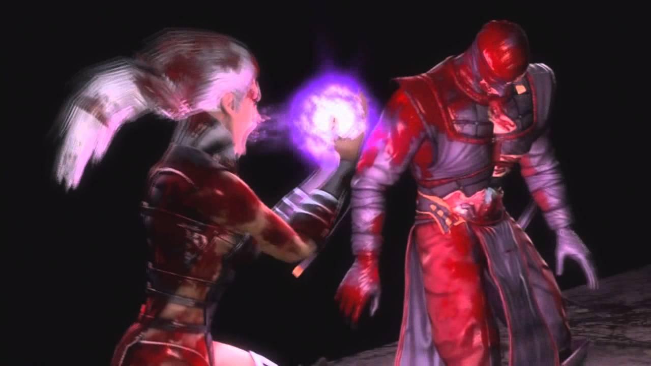 Mortal Kombat 9 Sindel Mouthful Fatality - YouTube