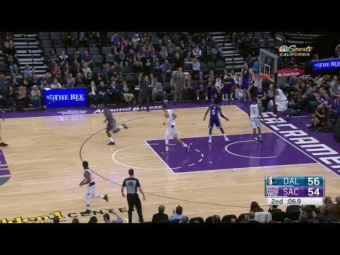 2nd Quarter, One Box Video: Sacramento Kings vs. Dallas Mavericks