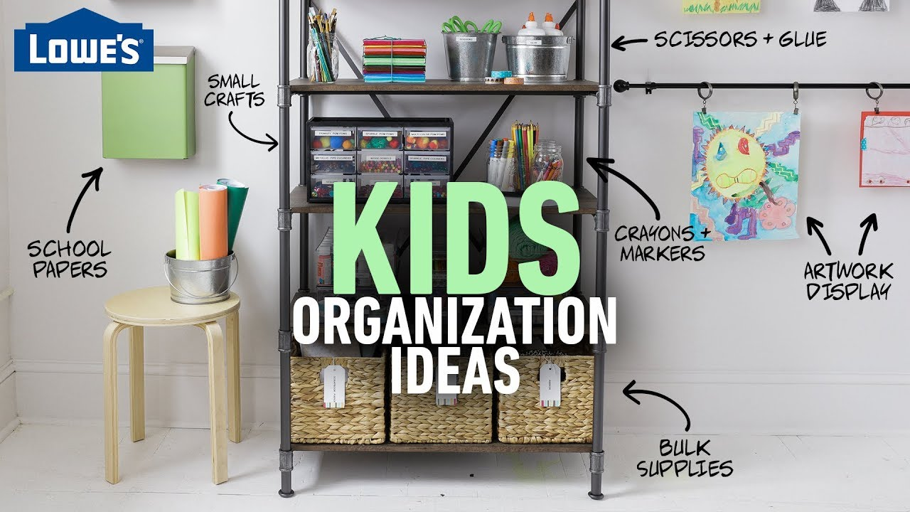 How to Organize Kid's Toys, Artwork, Games & More (w/ Monica from The Rachael Ray Home Furniture Weekender on