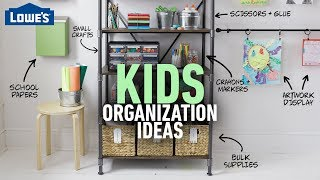 How to Organize Kid's Toys, Artwork, Games & More (w/ Monica from The Weekender)