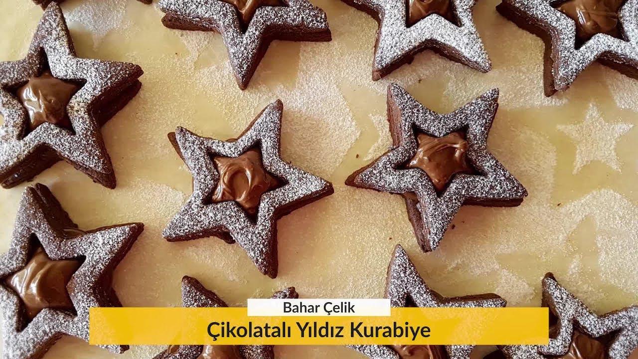 Çikolatalı Süslü Kurabiyeler Videosu