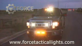 Force Tactical Lighting Solutions - Feniex Demo Safety Vehicle Lights