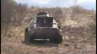 БТР-80 и БРДМ-2