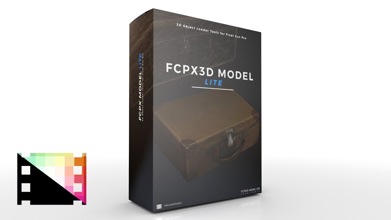 FCPX3D Model 1 0 Lite from Pixel Film Studios - (FREE PRODUCT)