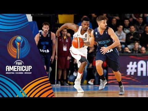 Canada vs Argentina - Slow Motion Recap - FIBA AmeriCup 2017
