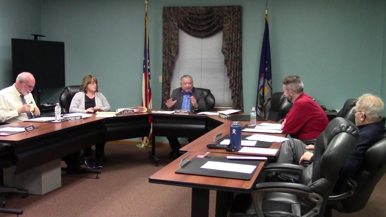 Champlain Town Board Meeting  12-10-19