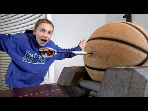 Darts Trick Shots | That's Amazing
