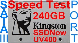 redigitt 141 240gb kingston ssd uv400 sata iii speed test on sata iii port