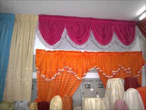 Cortinas decoraciones rosita youtube for Como hacer cortinas para sala