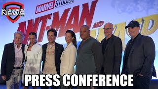 Marvel Studios' Ant-Man and the Wasp - Full Press Conference streaming
