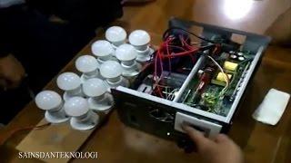 Prototype Energi Listrik tanpa BBM Karya Anak Bangsa