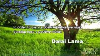 Great Inspirational Quote on Vision and Positivity