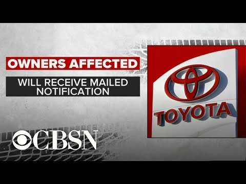 Airbags recall of Toyota, Scion Lexus models includes 1.7 million cars