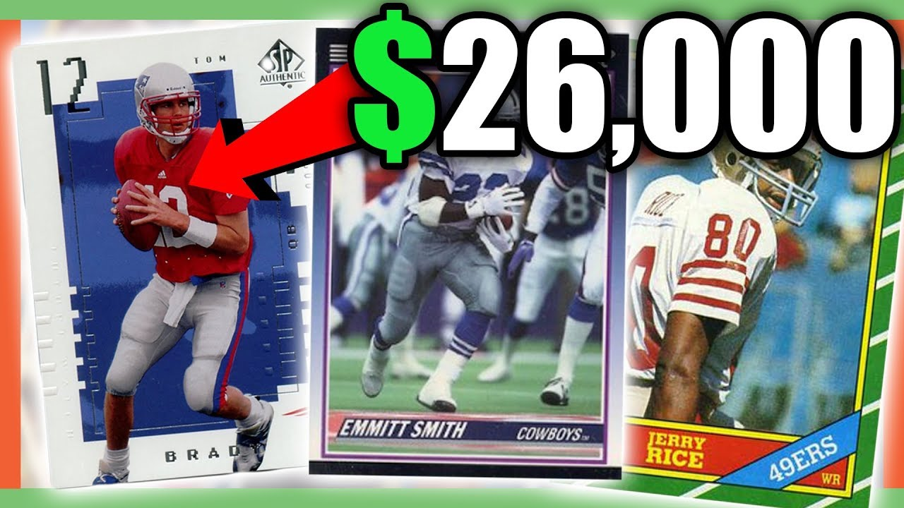 Rare Football Cards Worth Money Nfl Cards Worth Money