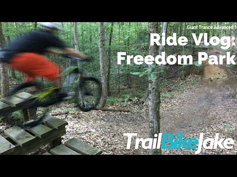Ride Vlog: Freedom Park - Giant Trance Advanced 1