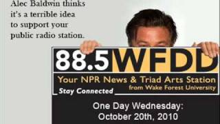 Support Public Radio: Alec Baldwin