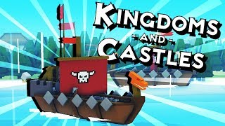 VIKING INVASION and the CURE for the PLAGUE! - Kingdoms and Castles Gameplay