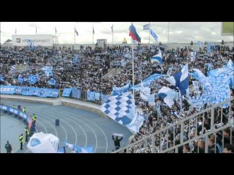 Supports fans of FC Zenit -Loko 29-09-2012
