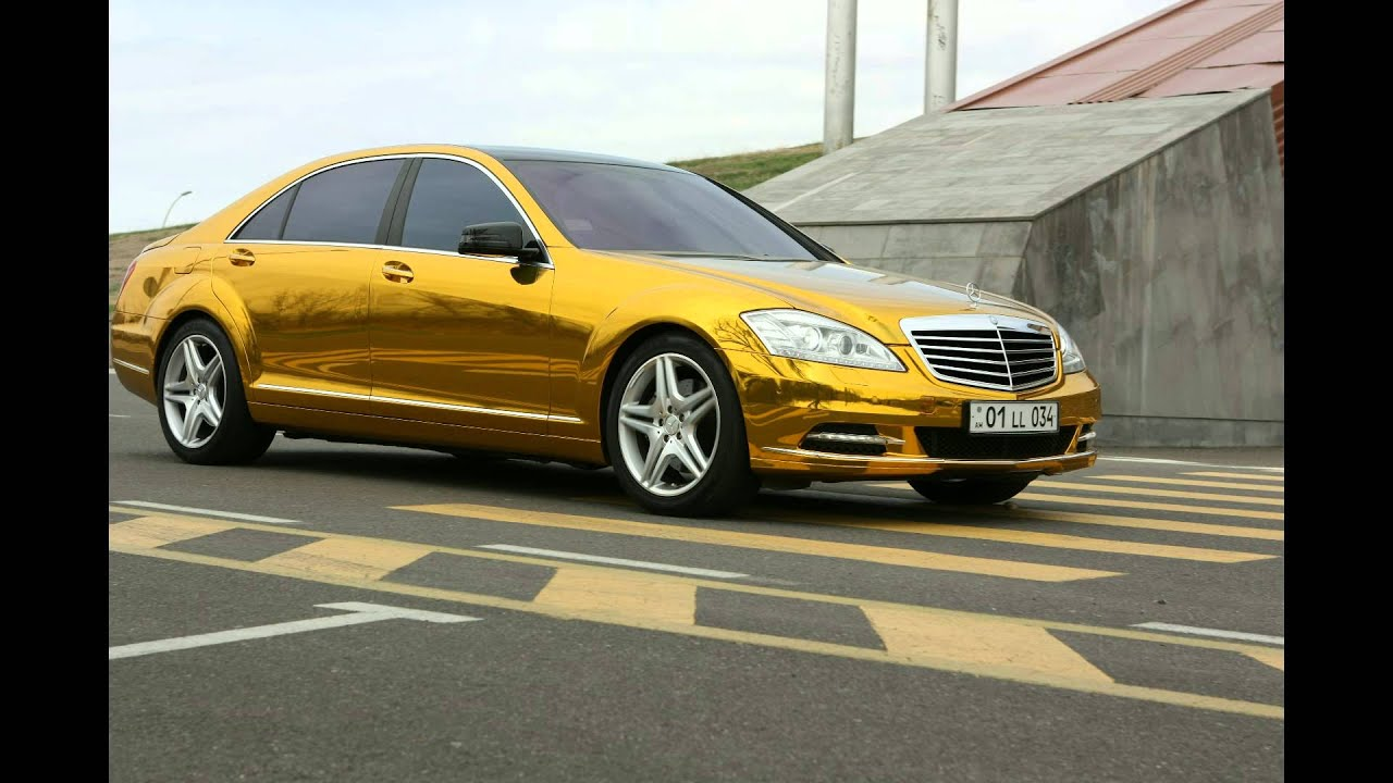 Mercedes Benz S500 Gold Youtube