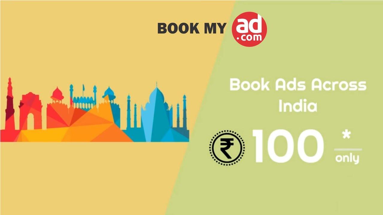 Bookmyad - Book Newspaper Advertisement online at lowest cost | Best