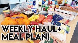 WEEKLY GROCERY HAUL + MEAL PLAN 🍓 $10 STRAWBERRIES, BABY!