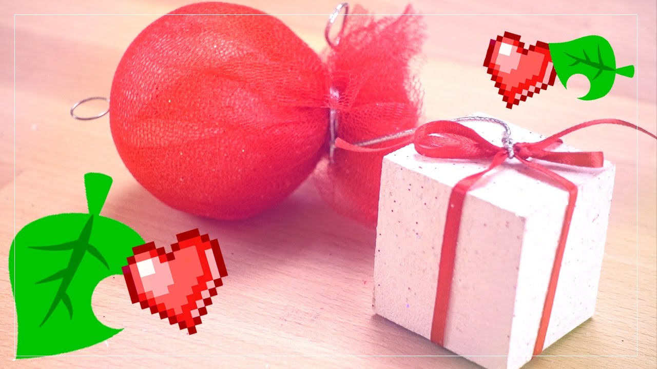 Animal Crossing : Balloon Present Ornament ❤ DIY - YouTube