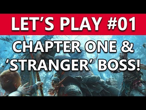 Let's Play God Of War PS4 Live Stream - Starting Out!