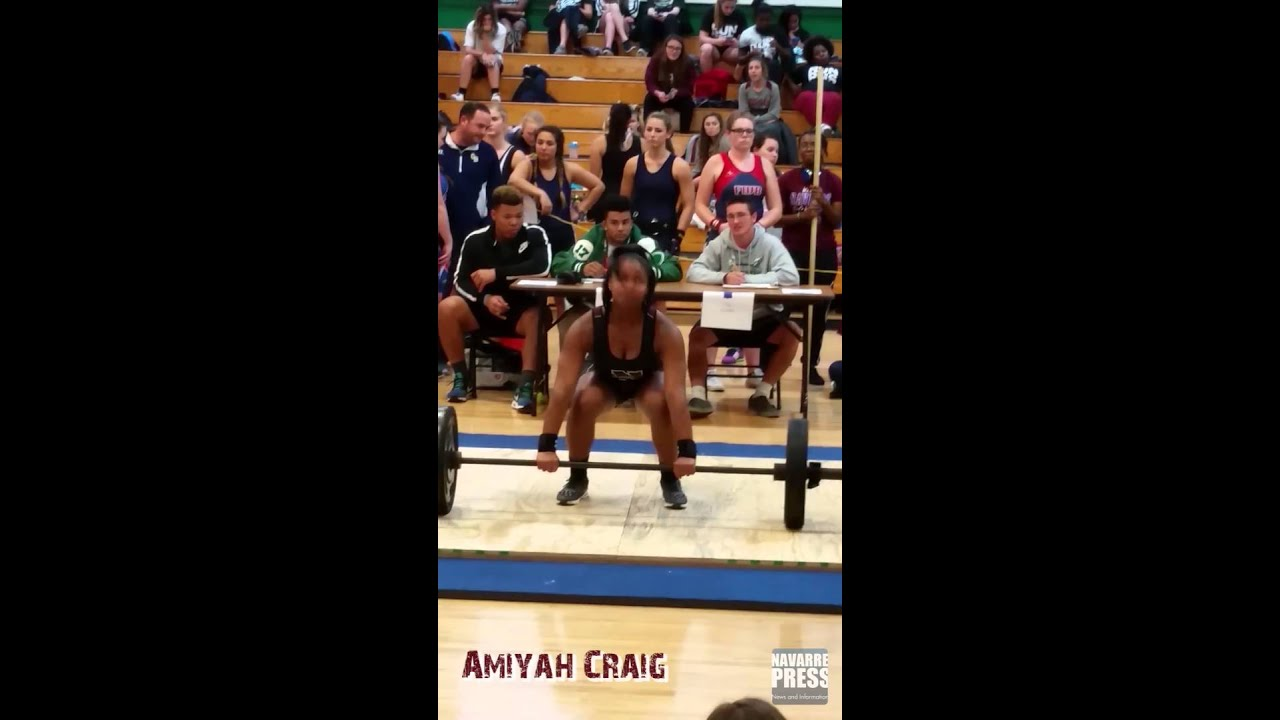 Navarre Raiders Girls Weightlifting 2015 Youtube