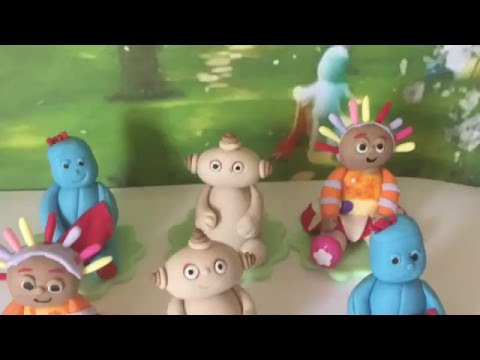 In the night garden iggle piggle haahoos edible cake for In the night garden cakes designs