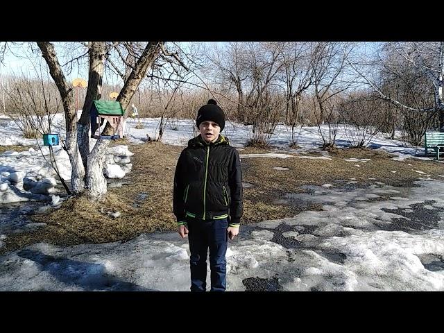 Изображение предпросмотра прочтения – ГлебМисюркеев читает произведение «Весенние воды (Еще вполях белеет снег…)» Ф.И.Тютчева