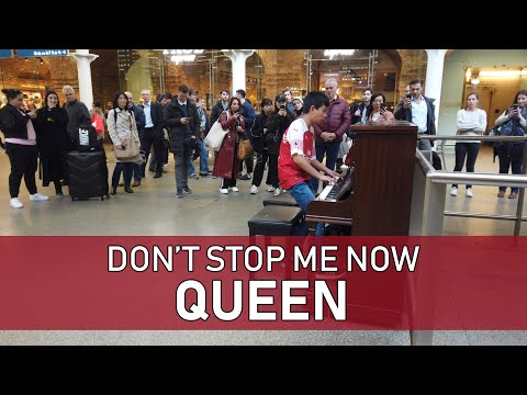 Don't Stop Me Now Stuns Train Station Crowd Cole Lam 12 Years Old